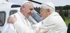 Las fechas de Francisco y Benedicto, lo más buscado en la Lotería de Navidad.