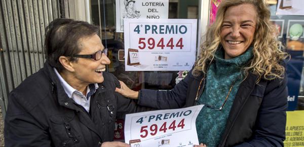 Lotería de Navidad 2016: Los cuartos premios son para el 59444 y el ...