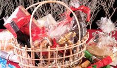 Cestas de Navidad que tocan con la Lotería.