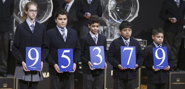 El número agraciado con el segundo premio del Sorteo del Niño.