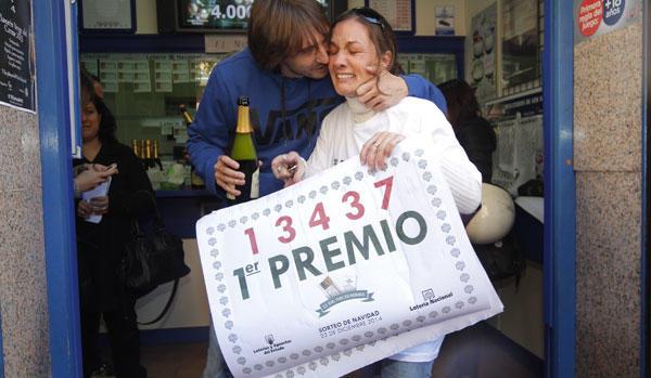 'El Gordo' de la Lotería de Navidad.