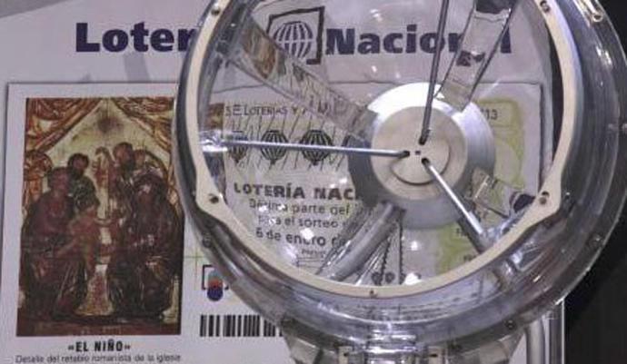 El bombo de la Lotería del Niño 2019.