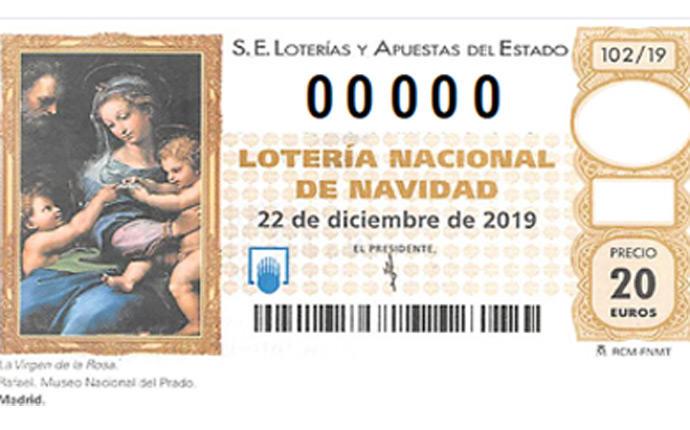 Imagenes Loteria Navidad.Asi Es El Decimo Del Sorteo De Navidad 2019 Loteria Navidad