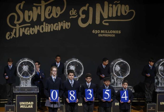 Lotería del Niño.