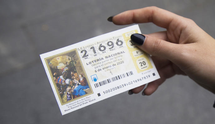 Comprar Lotería del Niño.