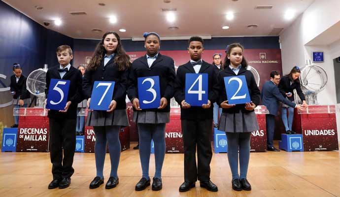 Premios Lotería Niño